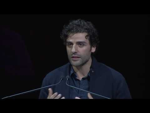 At an event called Letters Live, actor Oscar Isaac read a letter that noted physicist Richard Feynman wrote to his wife Arline a