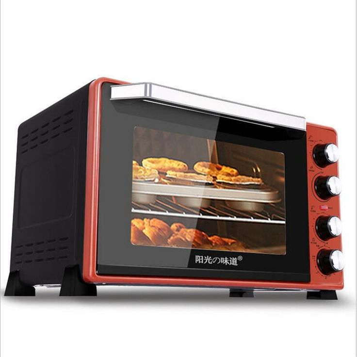 45L 2000W Multifunction Electric Oven Making Bread Pizza Cookies For Commercial Household #Affiliate