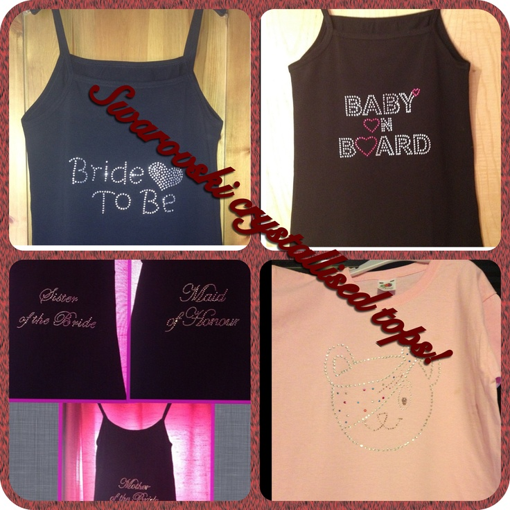 Some customer orders! Can cater for hen nights, for bridal parties and children for enquiries please email sam@sparklesbysam.co.uk xxx