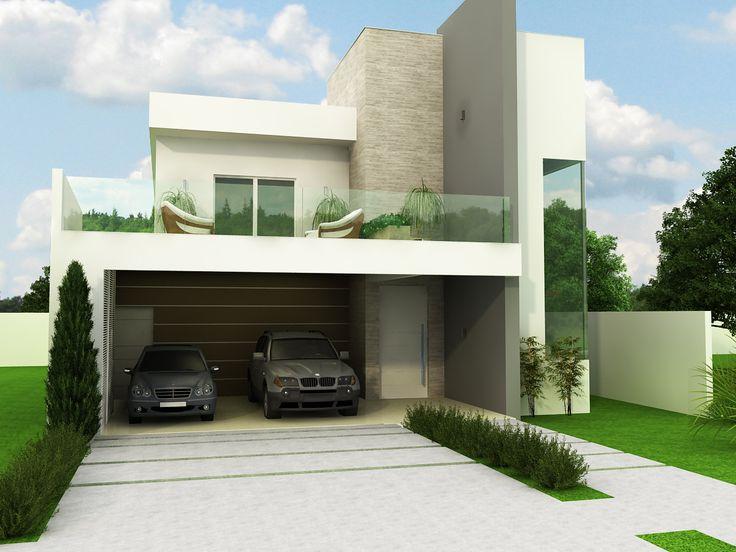 Residência moderna. Arquitetura