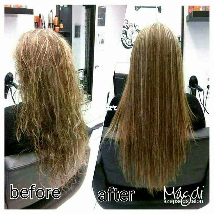 Ha megzabolázzuk a kócos, kezelhetetlen hajat, akkor ilyen szép és egyenes lesz, a puhaságáról nem is beszélve.  www.magdiszepsegszalon.hu/tartoshajegyenesites