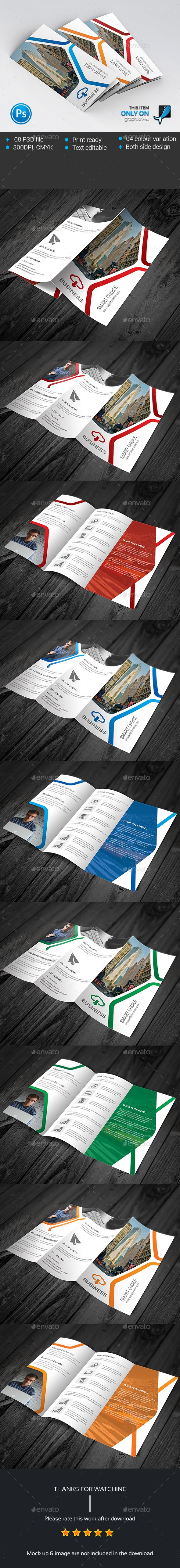 Corporate Trifold Brochure Template PSD #design Download: http://graphicriver.net/item/corporate-trifold-brochure/13919969?ref=ksioks