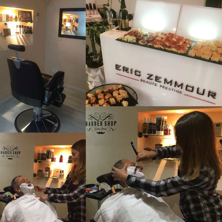 Inaugurarion Barber Shop with #barber Virginie at #ericzemmourmonacoII 💈🇮🇩💈 #fridaybubbles #champagne #inauguration #cabineprivee #barbershop #ericzemmour #monaco #montecarlo #monmonaco #hairdresser #hair #montecarlolux #man #men #shave #bear #hair #tbt #barbershopconnect #barberlife #barbergang #barberlove #menhealth #menstyle #tbt #followme