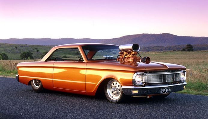 Ford Falcon 1964 Custom Muscle Cars Ideas 23