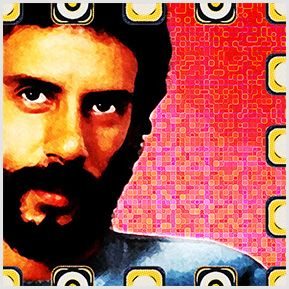 Gonzaguinha - Cazuza - Quadrinhos confeccionados em Azulejo no tamanho 15x15 cm.Tem um ganchinho no verso para fixar na parede. Inspirados em cantores e compositores brasileiros. Para entrar em contato conosco, acesse: www.babadocerto.com.br