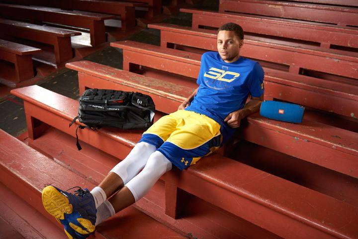 Stephen Curry NBA player & JBL Xtreme