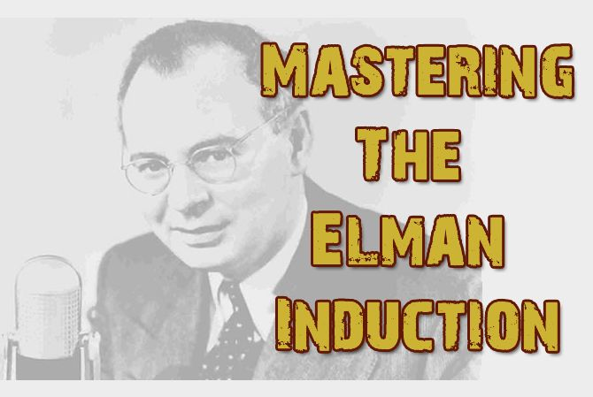 Mastering the Elman Induction the online video and audio course. Find out more at http://youcanhypnotize.com