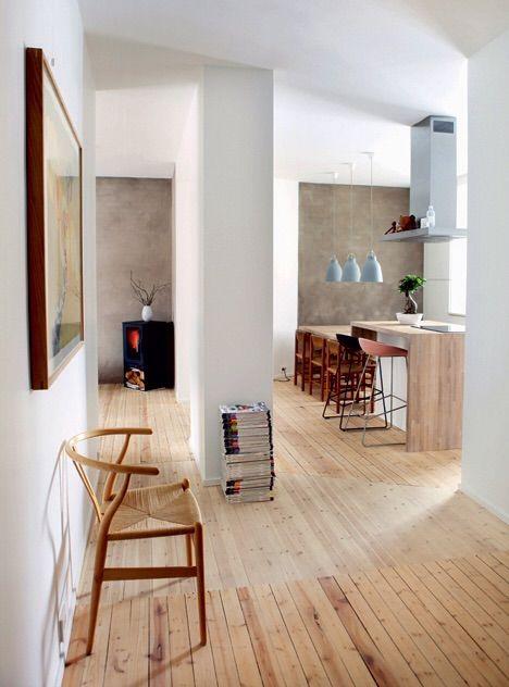 Enkel og fin lejlighed i stramt design