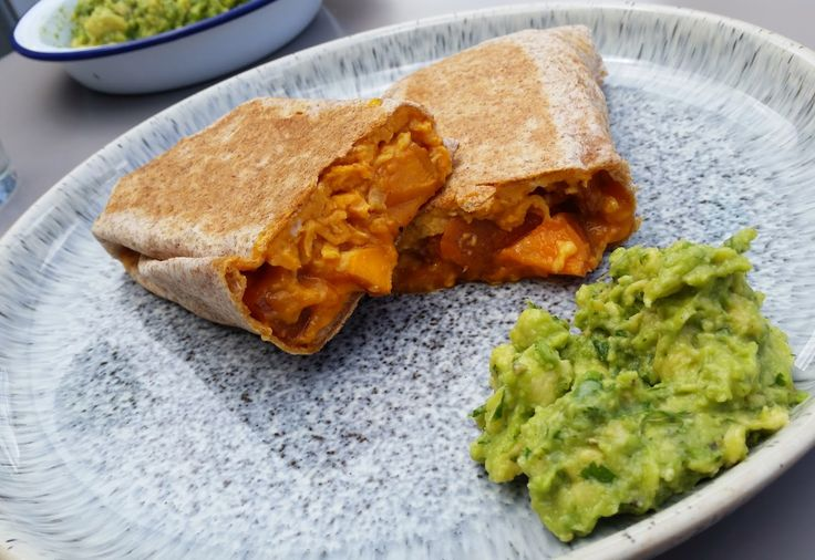 The Mocking Bird: Toasted Spanish 'Omelette' Burrito