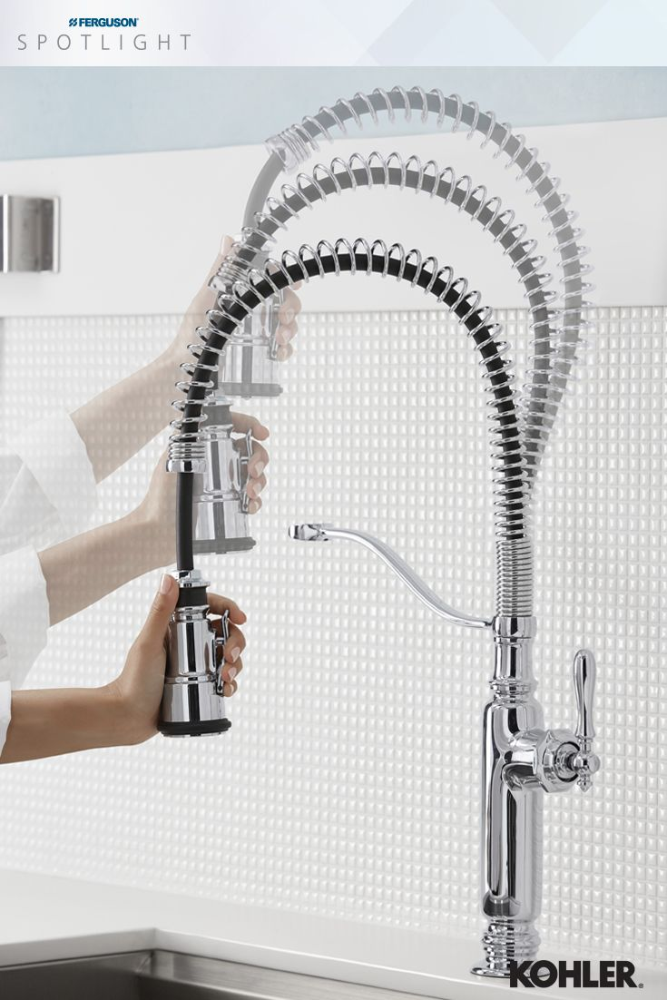 98 best kitchen faucets images on pinterest