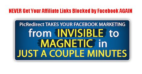 Keep all your Affiliate links in your back office, and Share them from your backoffice to Facebook, Google+ Linkedin, And Twitter.  Keep track of Clicks and never get your Affiliate Links Blocks again!
