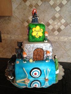 Disney Brave Cake Ideas | Maddie's Brave cake made by my sister Carol