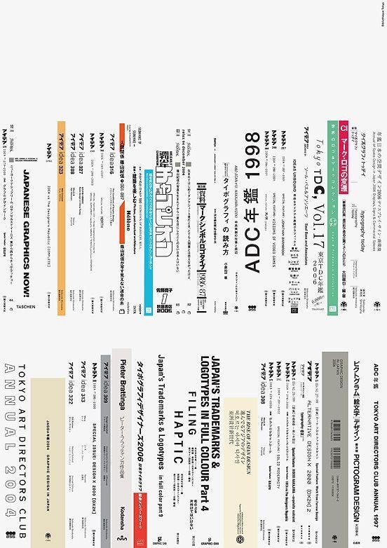 Bibliothèque / Studio Kanna / How Very Tokyo / Poster / 2008