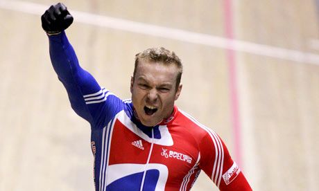 Chris Hoy Cycling  Olympics London 2012