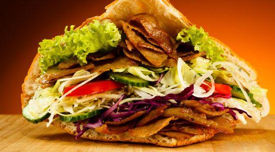 Pyszności! Pyszne kebaby od Alibaby :) Mniam!