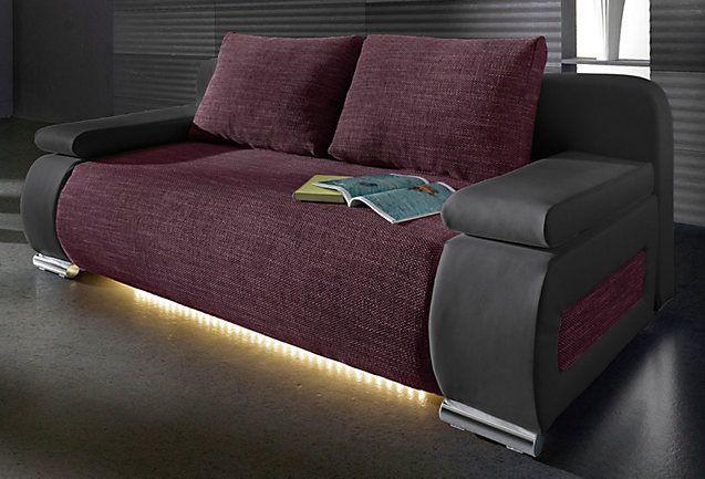 Slaapbank naar keuze met LED-verlichting - €400