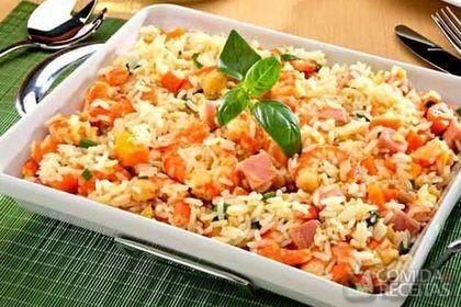 Receita de Salada de arroz com camarão em receitas de saladas, veja essa e outras receitas aqui!