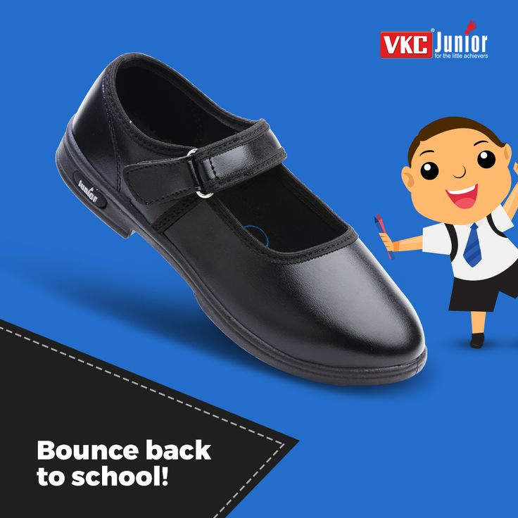 Its school time and we are all set for your little champs with some of our amazing collections..Come and explore more. (Art no :552) #footwear #vkcjunior #schooldays