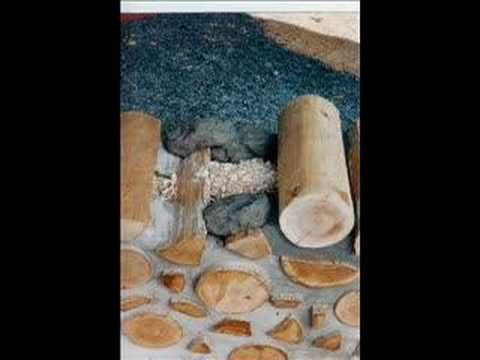 How I Built Our Cordwood / Stackwall Cottage 1 of 2