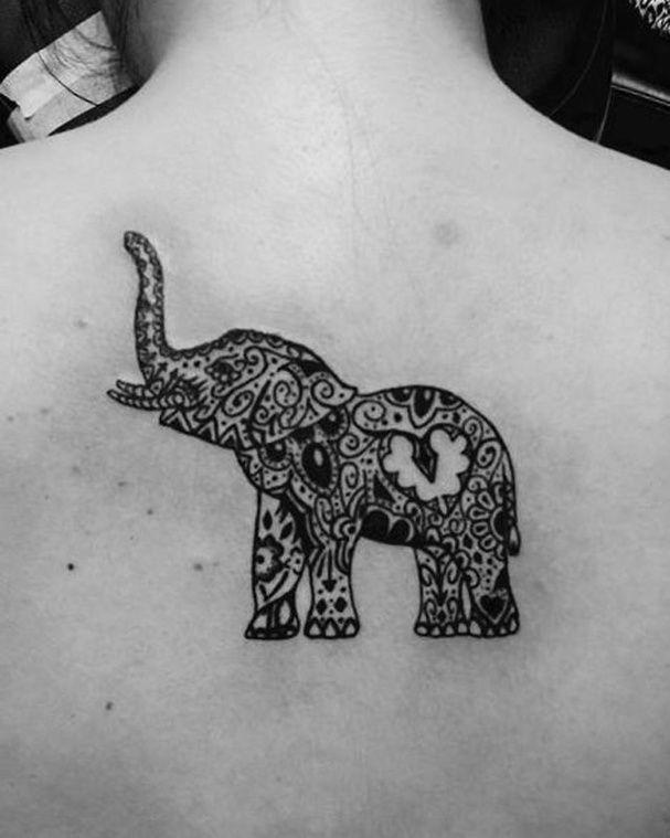 Tatouage elephant indien - Signification tatouage elephant ...