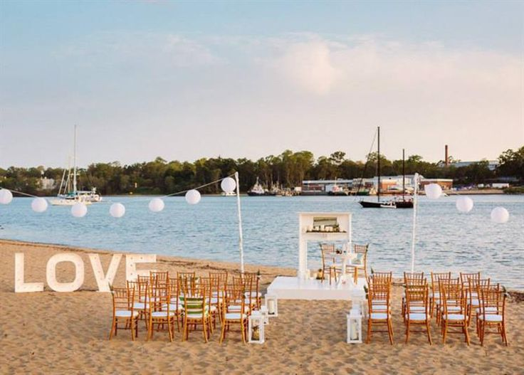 Northshore Harbour [BRISBANE] From intimate ceremonies on the private beach through to marquee weddings and exclusive use of the restaurant.