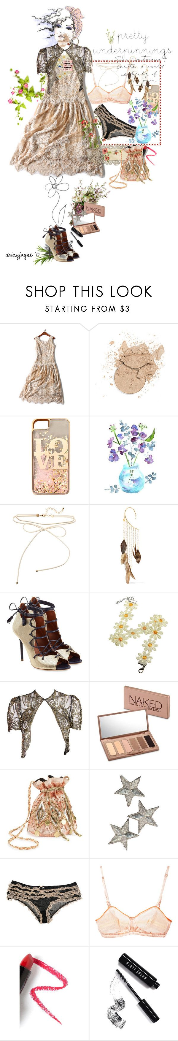 """pretty underpinnings"" by daizyjayne ❤ liked on Polyvore featuring claire's, Rosantica, Malone Souliers, Urban Decay, Miss Selfridge, Forever 21, Marni, Lapcos, Bobbi Brown Cosmetics and contestentry"