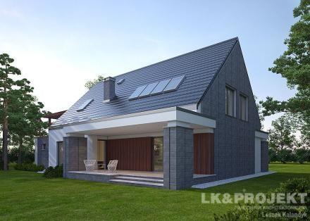 Projekty domów LK Projekt LK&1083 zdjęcie wiodące