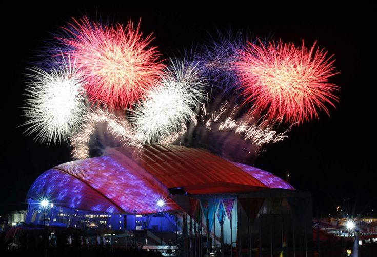The opening ceremony of the Sochi Olympics got off to a rocky start, with a lighting malfunction and an athlete falling during the Parade of Nations, but ended successfully with fireworks.