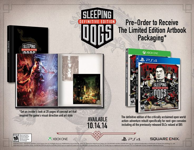 Sleeping Dogs Definitive Edition Revealed - PoppycockReviews.com