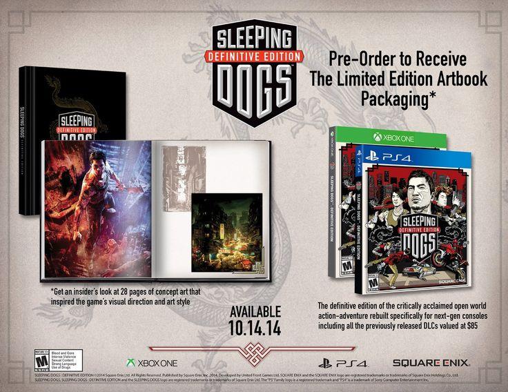 Sleeping Dogs Definitive Edition (got it).