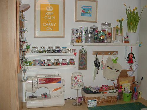 O quarto da mãe como lhe chama o Rodrigo =) My craft room