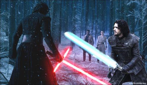 Jon Snow vs Kylo Ren