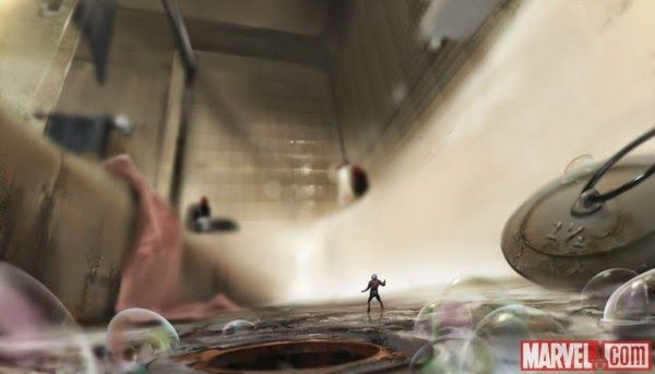 ant man andy parks art   ... ANT-MAN Concept Art by Rodney Fuentebella, Andy Park and Jackson Sze