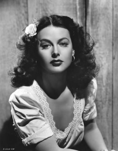 Hedy Lamarr, actress and mathematician.