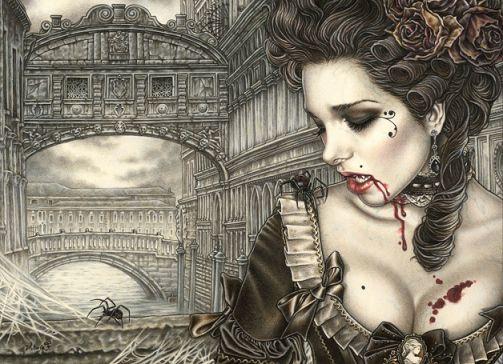 vampiros - Vampiros en el Arte fantastico. 532fe756455b7e5b0f251507c7d1fafa