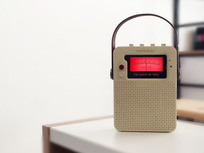 2 | Turn Your Old iPhone Into A New, Braun-Inspired Radio | Co.Design | business + design