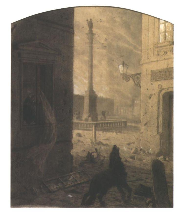 Sigismund III Square - Artur Grottger