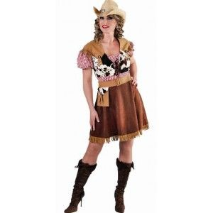 Déguisement cowgirl country femme luxe, danse