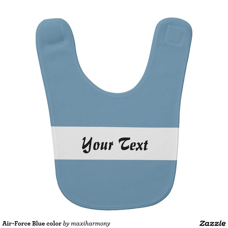 Air-Force Blue color Baby Bibs