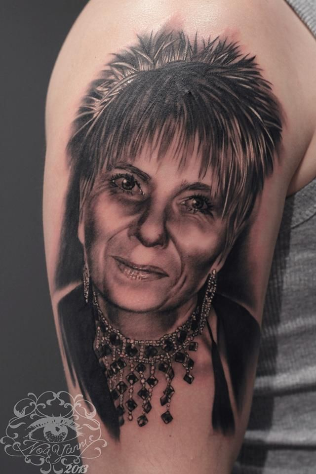 General portrait done at Eternal Tattoo Studio Silvano Fiato in Genoa when i was at guest artist