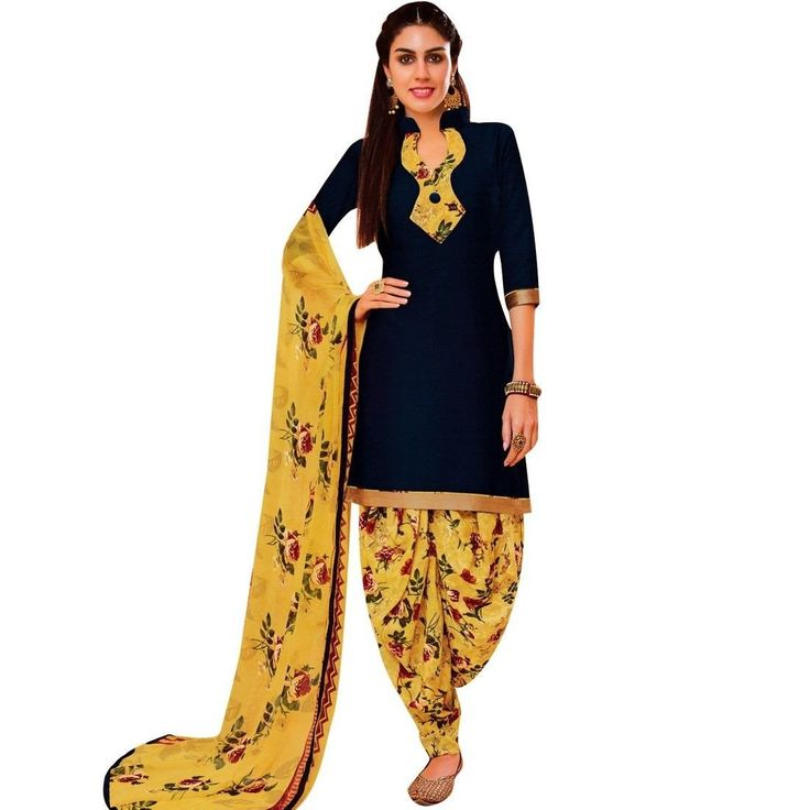 Readymade Patiala Salwar Printed Cotton Salwar Kameez Suit  #Designer #NewStuff #FreeShipping #ShopNow #SalwarSuit #LowestPrice #DressMaterial #SalwarKameez