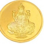 5 gm 24kt Gold Coin @ Rs.15458 (Rs.3091per gram)