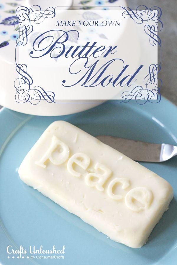 Customizable Butter Mold