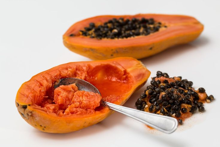 <p>This hair mask is great for those with dry hair. Papaya is packed with minerals and vitamins that stimulate hair growth and nourish it. Add in the yoghurt and you've got a mask that also helps control dandruff while smoothening out split ends and damaged hair shafts.<br /> Skin a ripe papaya and remove all the seeds. Cut into pieces and blend together to get a smooth puree. Stir in half a cup of yogurt and mix into a paste. Massage the mask on your scalp and apply it generously all over…
