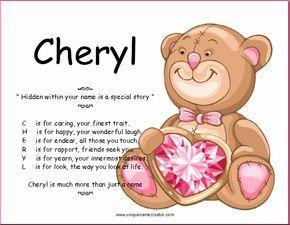 Cheryl | Unique Name Creator