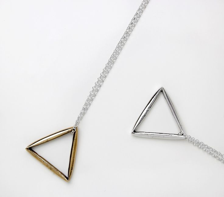Triangle Necklace - SIGNED