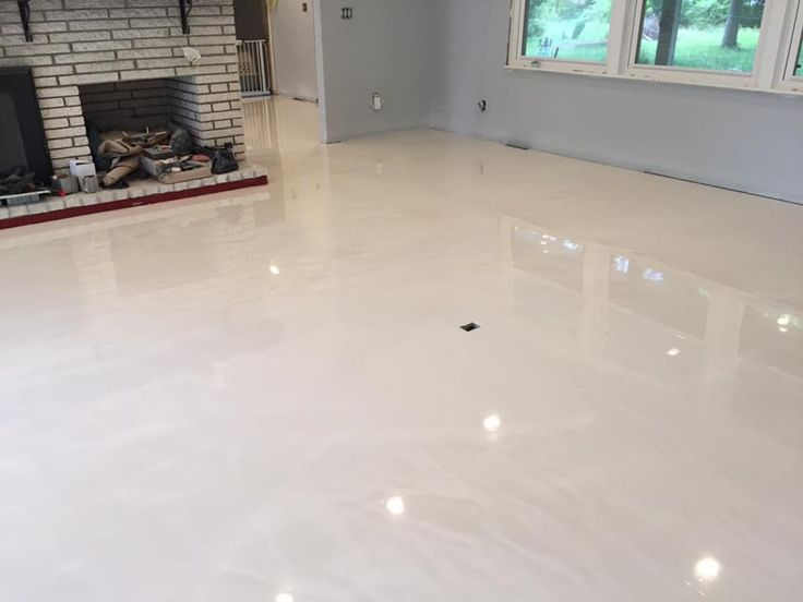 Pearl Metallic Marble Epoxy Flooring In Wilmington North