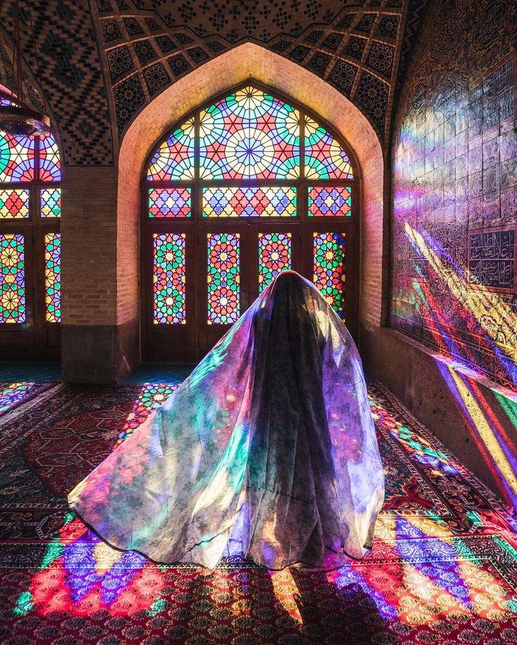 Nasir ol molk mosque , shiraz , iran