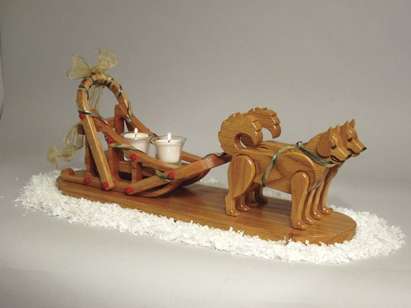 Dog Sled Scrollsaw Christmas Plan | Scrollsaw wooden goods ...