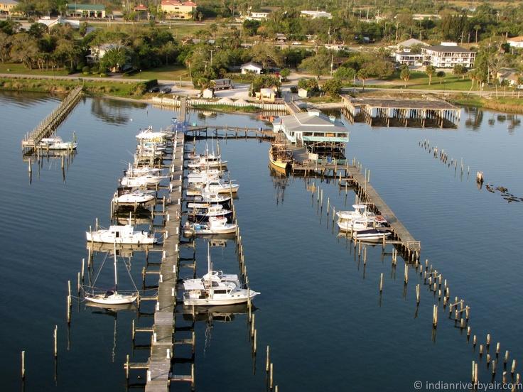 Squid Lips Restaurant and Marina, Sebastian, Florida